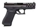 Glock 45 9mm PST 17rnd FS Black/Silver Flag